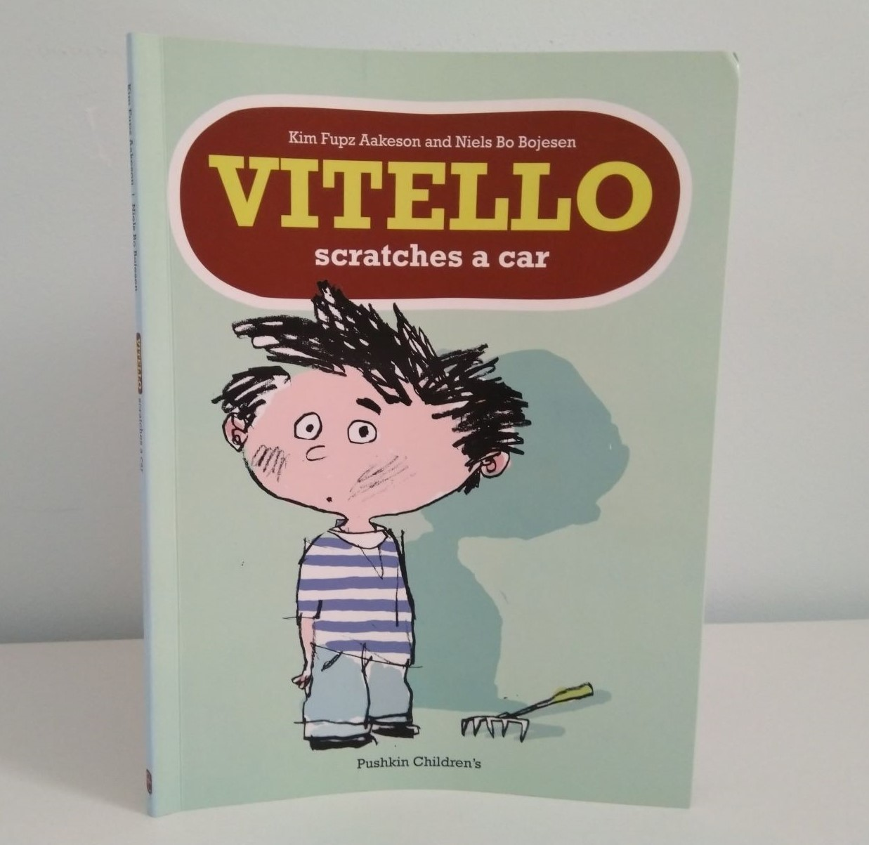 Cover of Vitello Scratches a Car